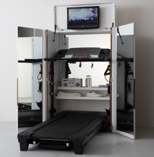 Inova ie pentru cei ce practic sportul acas dulap - Costruire palestra in casa ...